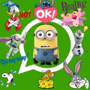 Cartoon Emoji For WhatsApp,Facebook & All SNS