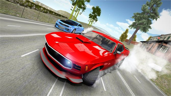 video game in car racing