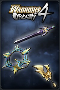 Carátula del juego WARRIORS OROCHI 4: Legendary Weapons Samurai Warriors Pack 1