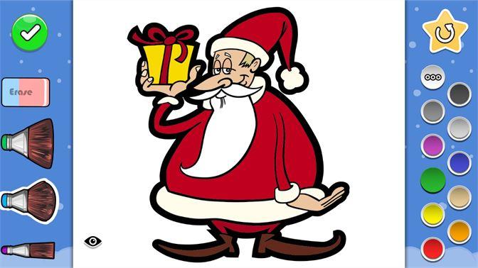 Boyama Kitabı Noel Baba Erkeler Kızlar Yetişkinler Ve çocuklar