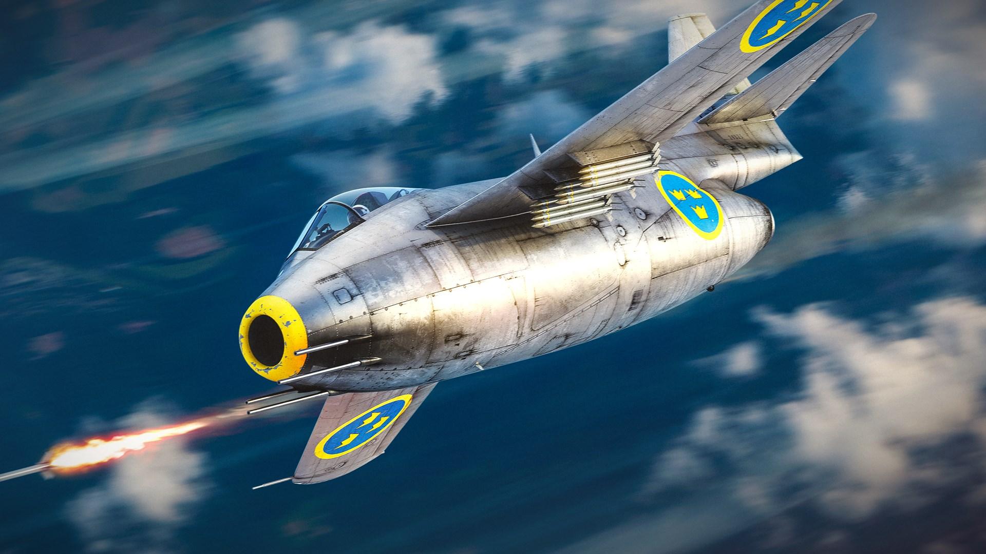 War Thunder - Saab J-29D Pack
