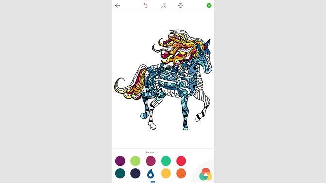 At Boyama Oyunları Büyükler Için Boyama Kitabı Al Microsoft Store