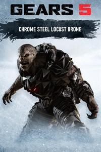 Chrome Steel Locust Drone