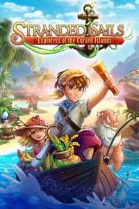 Carátula para el juego Stranded Sails - Explorers of the Cursed Islands de Xbox 360
