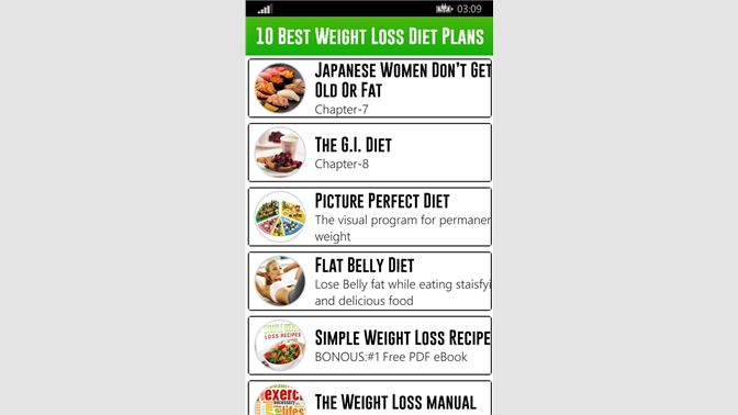 Get 10 Best Weight Loss Diet Plans Microsoft Store