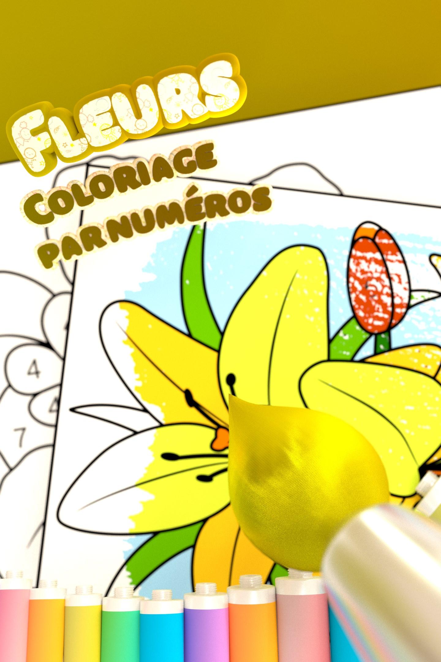 Obtenir Fleurs Coloriage Par Numeros Microsoft Store Fr Ca