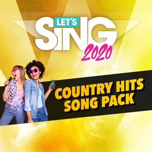 Let's Sing 2020 Country Hits Song Pack Xbox One