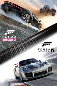 Carátula del juego Forza Motorsport 7 and Forza Horizon 3 Bundle