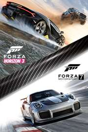 Carátula del juego Forza Motorsport 7 and Forza Horizon 3 Bundle