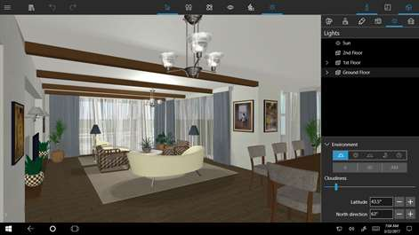pretty home designs furniture.  Screenshot Build and walk around your future home in a beautiful real time Get Live Home 3D Microsoft Store