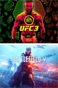Carátula para el juego BATTLEFIELD V and EA SPORTS UFC 3 Bundle de Xbox One