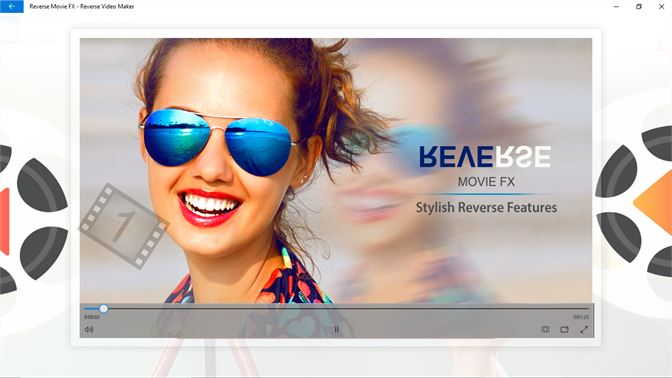 windows movie maker reverse playback