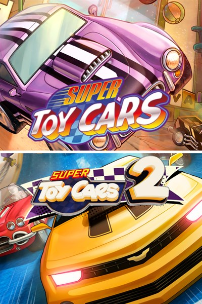 Super Toy Cars 1 & 2 Bundle