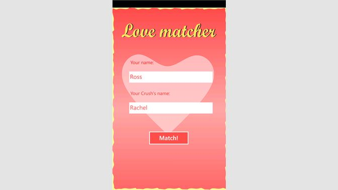 Get Love percentage calculator Mobile - Microsoft Store