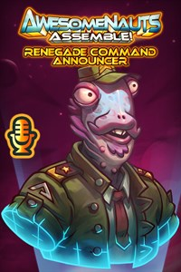 Carátula del juego Renegade Command - Awesomenauts Assemble! Announcer