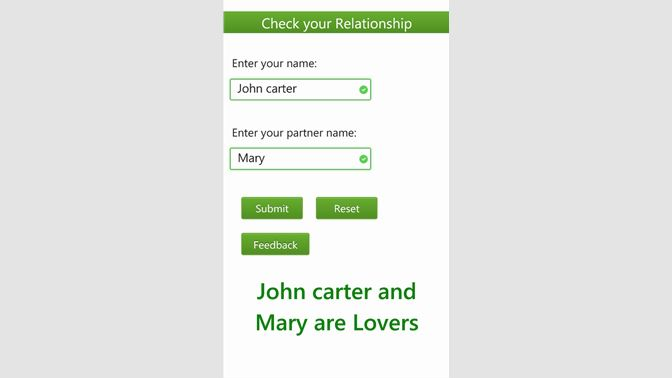 Get Check Your Relationship Microsoft Store