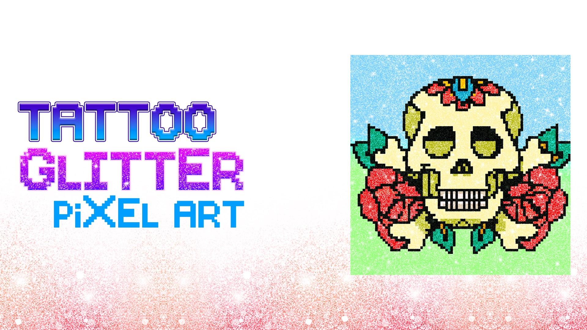 - Get Tattoo Glitter Pixel Art Coloring - Sandbox Paint Book - Microsoft