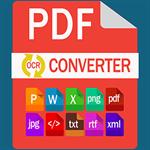PDF Converter Suite - PDF to Word(Docx), XLS, HTML, XML, PNG, JPEG & HTML, Word(docx), Xlsx, Jpeg, Xml to PDF Logo