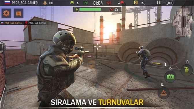 Striker Zone Ucretsiz Silah Oyunlari Savas Al Microsoft Store Tr Tr