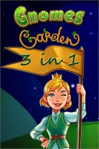 Carátula del juego Gnomes Garden 3 in 1 Bundle