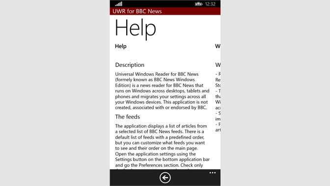 Get Universal Windows Reader for BBC News - Microsoft Store