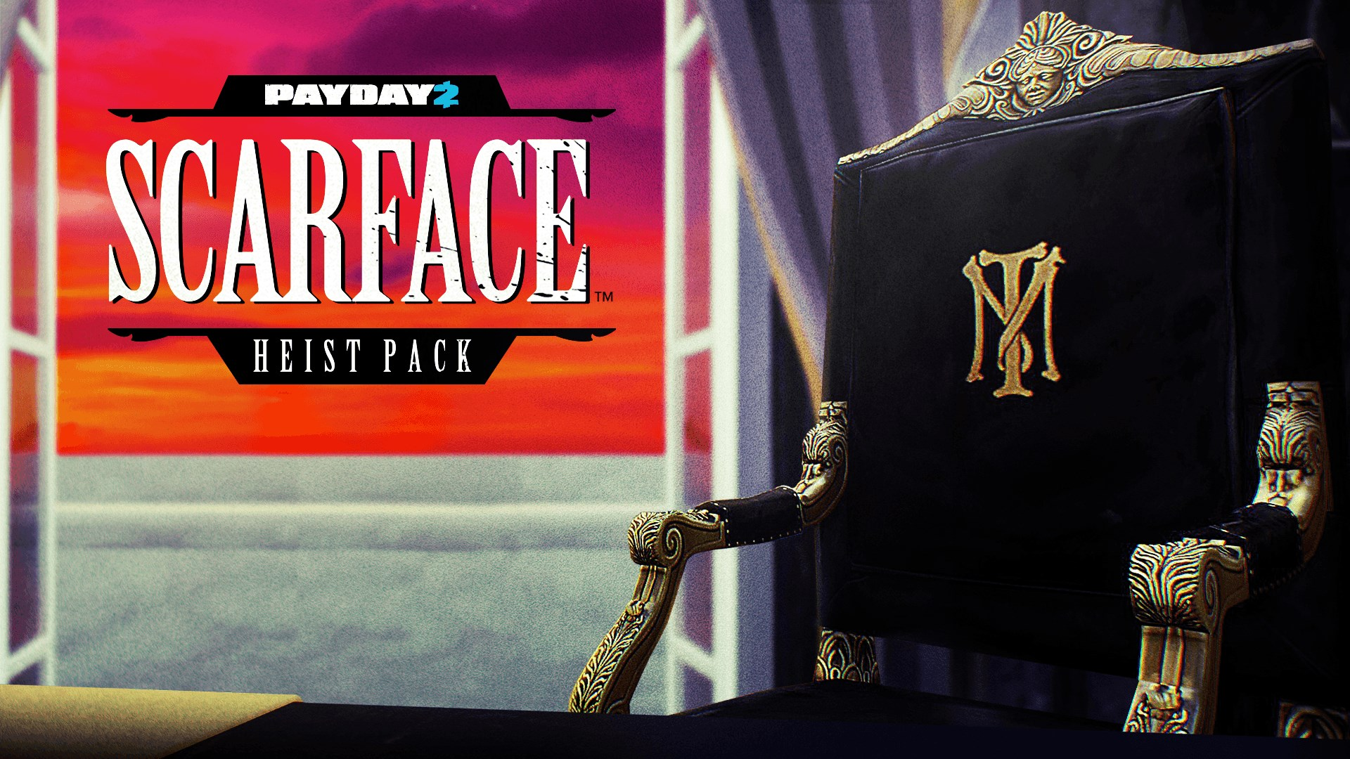 PAYDAY 2: CRIMEWAVE EDITION - Scarface Heist