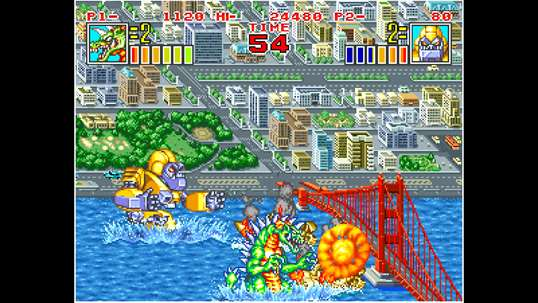 ACA NEOGEO KING OF THE MONSTERS 2 screenshot 1