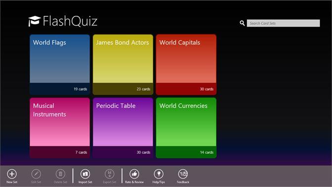 Get FlashQuiz - Microsoft Store