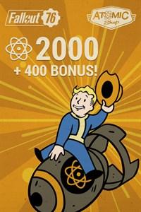 Fallout 76: 2.000 átomos (+400 de bônus)