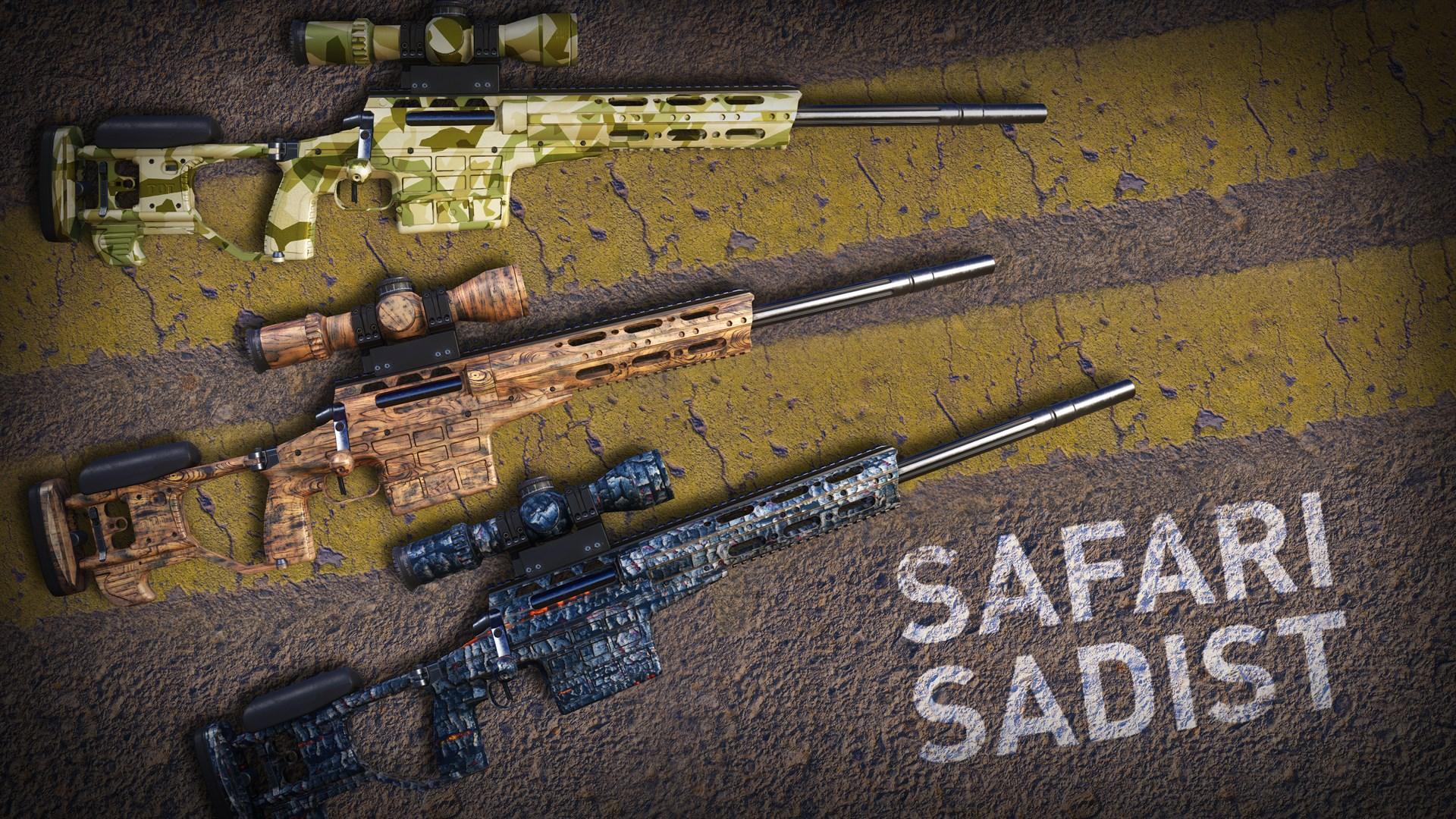 Safari Sadist Skin Pack