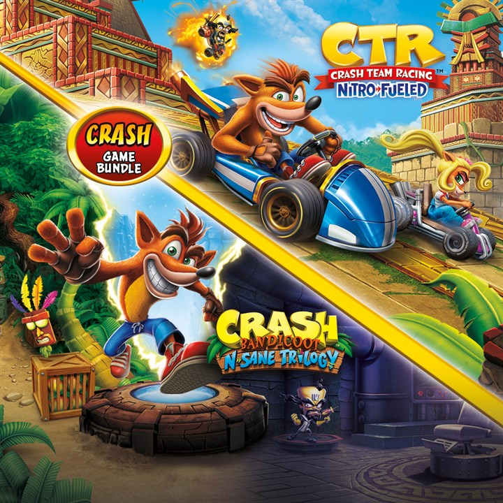Crash Bandicoot Bundle N Sane Trilogy Ctr Nitro Fueled Xbox One Buy Online And Track Price History Xb Deals Usa