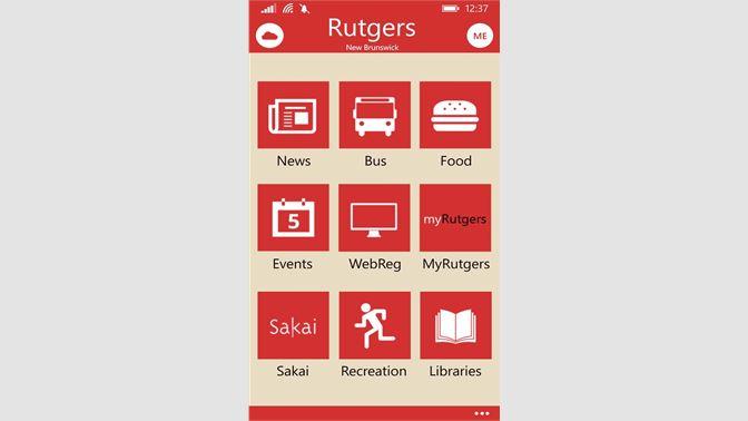 Get Rutgers - Microsoft Store