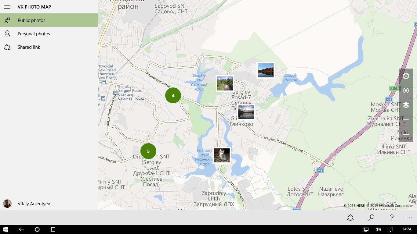 Vk Photo Map