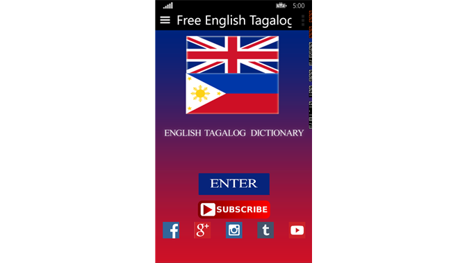 english tagalog dictionary for pc free download