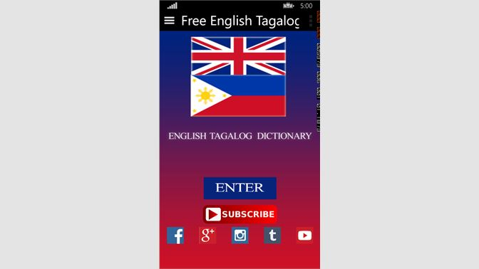 Get Free English Tagalog Dictionary Microsoft Store