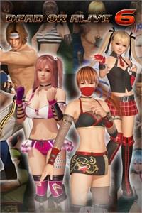 DOA6 Deluxe Costume Set (25 costumes)