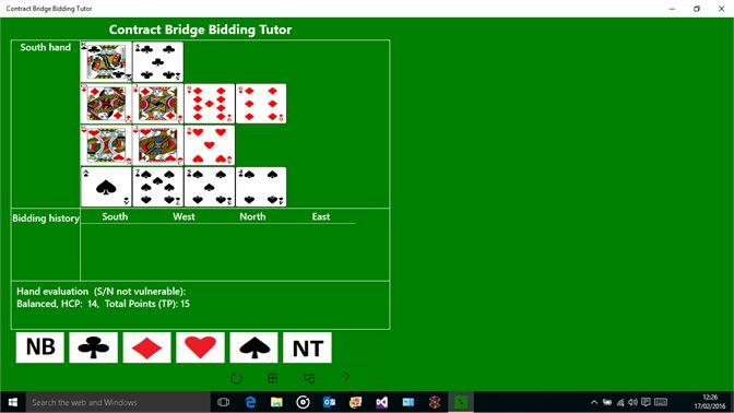 Get Contract Bridge Bidding Tutor for Windows 10 - Microsoft Store