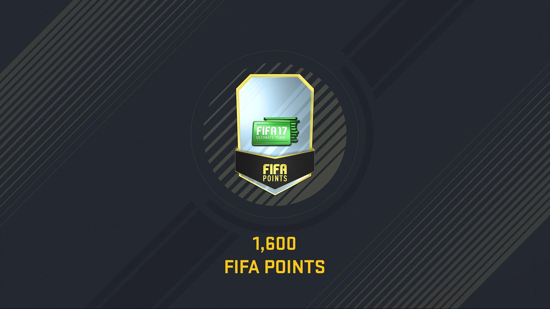 Pacote de 1.600 FIFA 17 Points