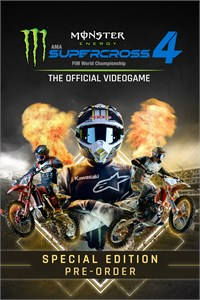 Monster Energy Supercross 4 - Special Edition - Pre-order