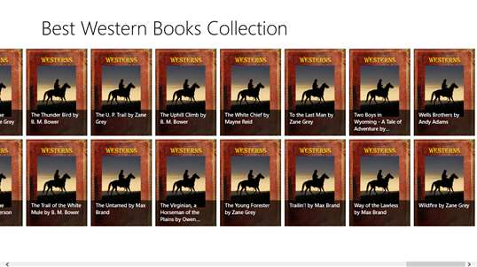 Best Western Books Collection screenshot 3