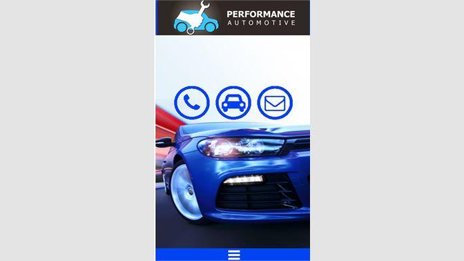Get Performance Automotive - Microsoft Store