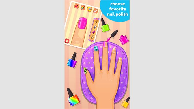 Get Nail Art Salon Game Microsoft Store