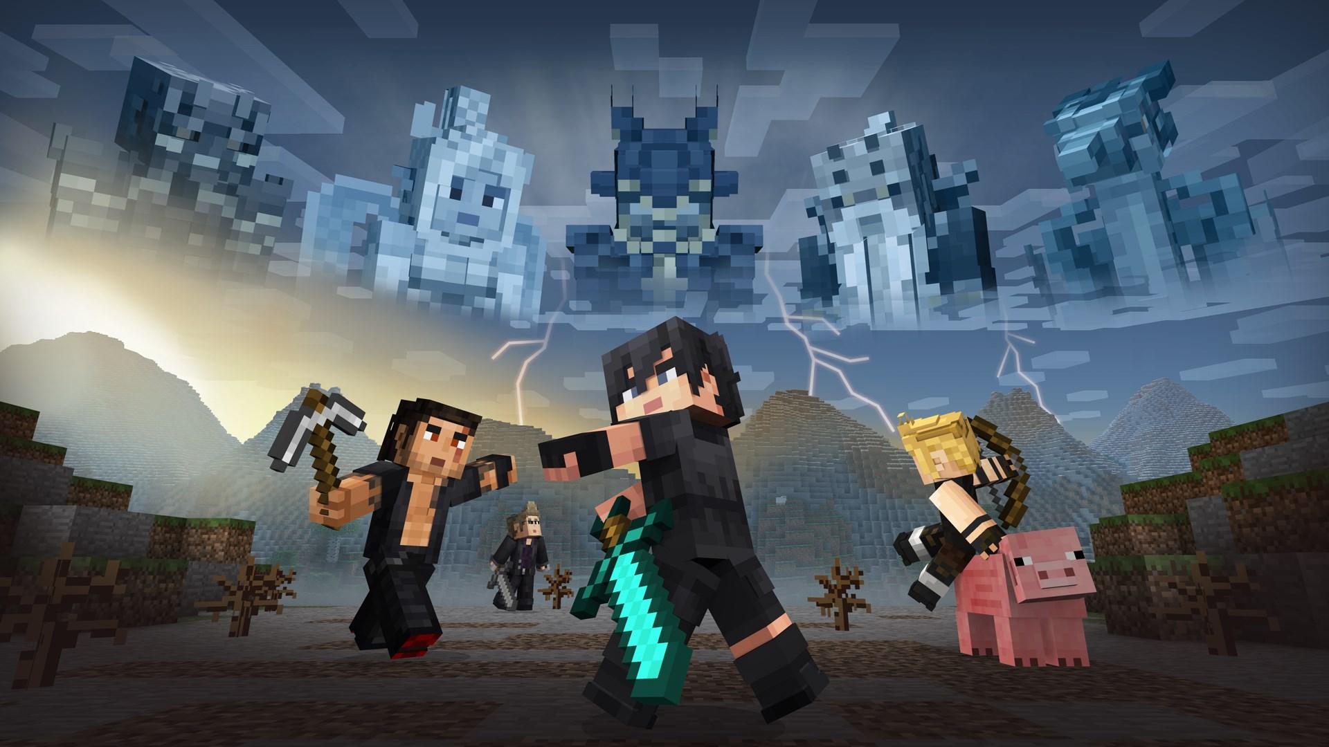 Pacote de Capas FINAL FANTASY XV do Minecraft