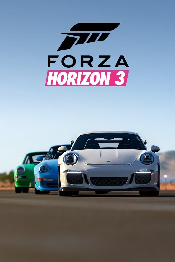 Buy Forza Horizon 3 Porsche Car Pack - Microsoft Store en-GB