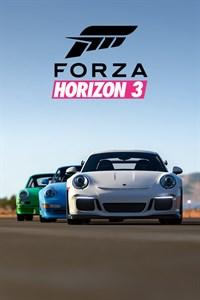 Carátula del juego Forza Horizon 3 Porsche Car Pack