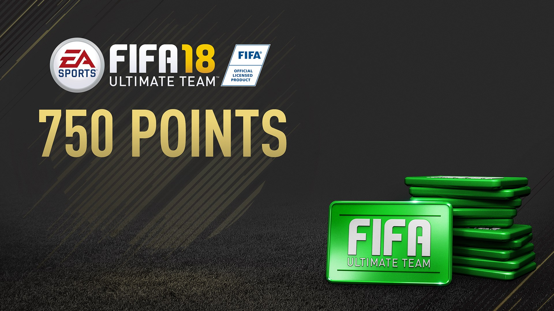 750 FIFA 18ポイントパック