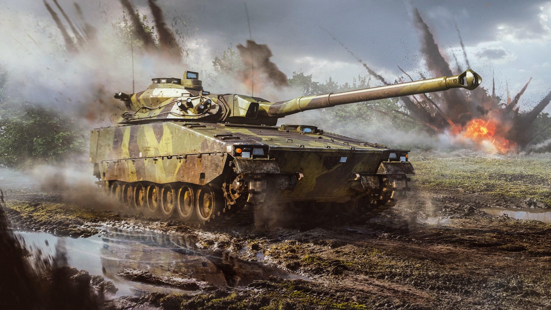 War Thunder - CV 90105 TML Pack