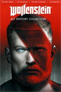 Carátula para el juego Wolfenstein: Alt History Collection de Xbox 360