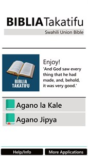 Bible in Swahili Free screenshot