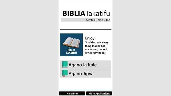 Get Bible In Swahili Free Microsoft Store